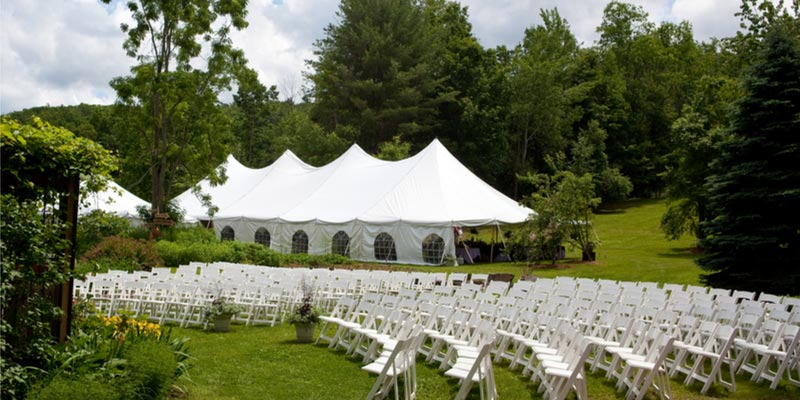 Commonly Overlooked Things When Planning A Tent Wedding