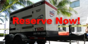 Contingency Planning For Businesses: Reserve Your Generators Ahead Of Hurricane Season