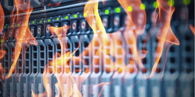 The Most Common Causes of Server Room Fires Might Surprise You